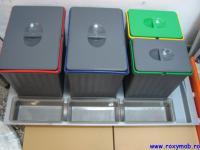recipiente de colectare selectiva a deseurilor - cos gunoi