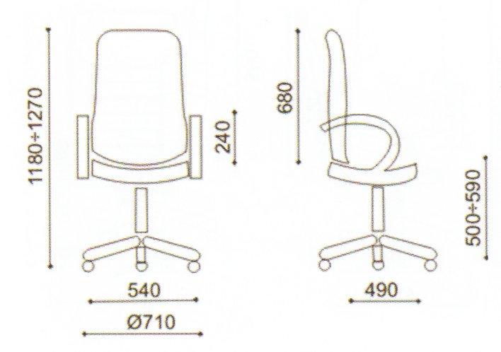 dimensiuni schita scaun directorial Ambasador extra
