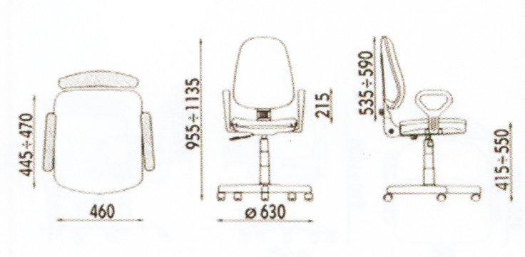 dimensiuni scaune ergonomice